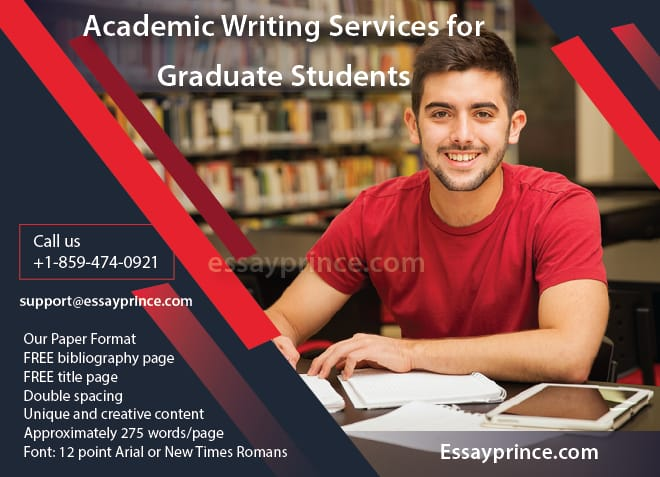 There is no better place to get Academic writing service for graduates other than at essayprince