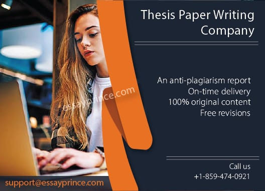 Thesis paper writing companies are not that many, at least the reliable ones
