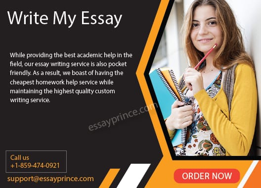 Essayprince.com is the most trusted Write my essay service in the States