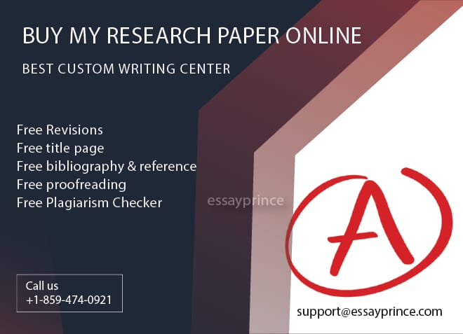 essayprince.com is one of the most reliable firm to buy research papers online