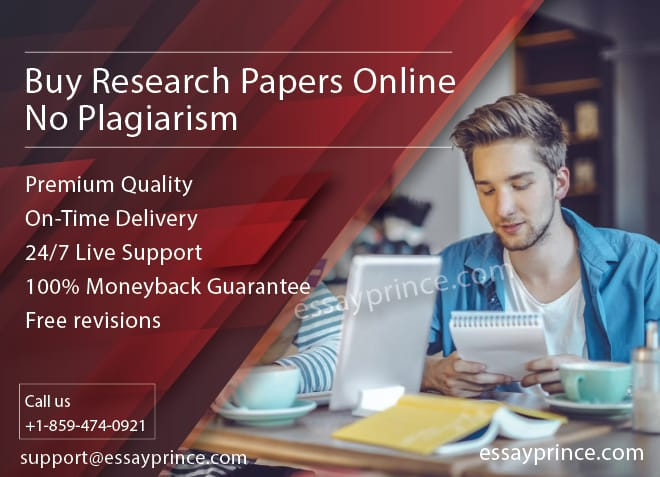essayprince.com is one of the most reliable firm to buy research papers online without any Plagiarism