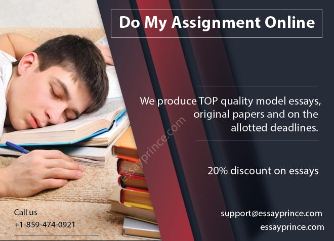 Who will do my Assignment online? that is no longer a question with essayprince.com around