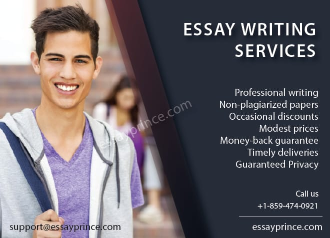 Now, essay writing services have never been this close to your doorstep, essayprince.com got your back