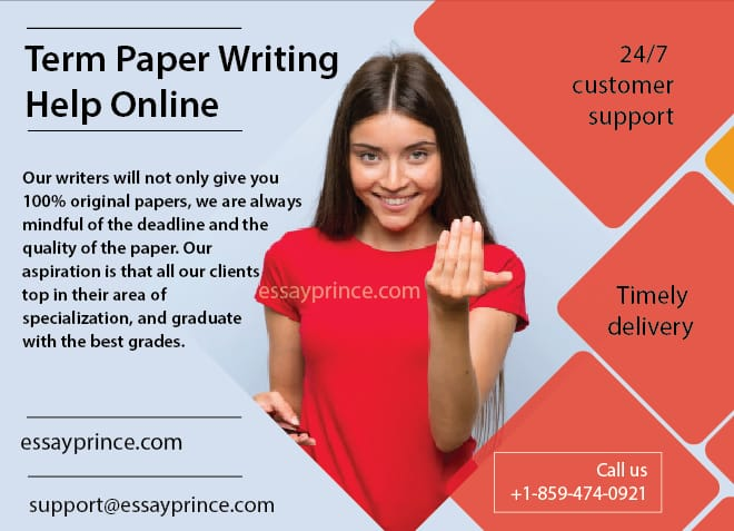 Essayprince.com is your go to answers to term paper writing help online