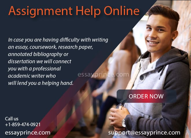 We are your First stop in all your Assignment Help Online needs
