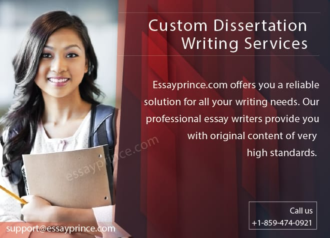 We have the best tutors to offer you custom dissertation writing services