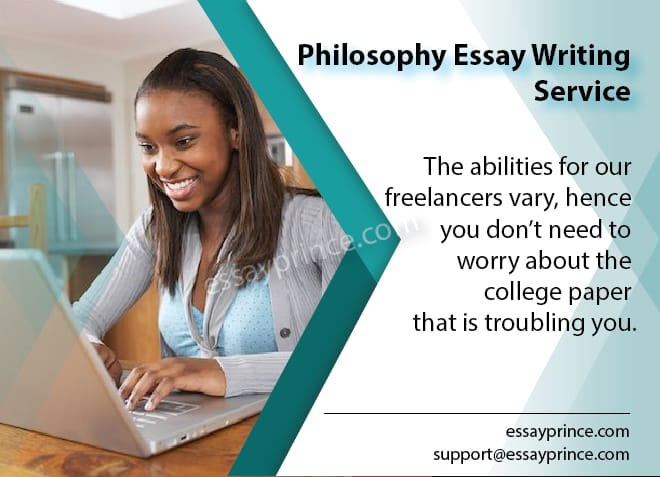 We guarantee you that we're your best option in philosophy essay writing service