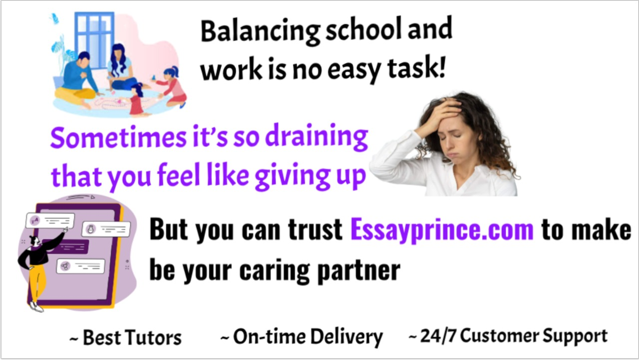 Balancing school and work is not easy